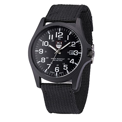 Fabulous XINEW Luxury Outdoor Sports Men's Watch Calendar Date Mens Steel Analog Quartz Watch Military erkek kol saat relogioi