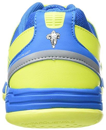 Kempa Wing Junior, Zapatillas Para Niños Azul (Bleu Cendré/jaune Spring)