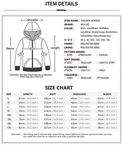 ASDF Hommes Hoodies Sweat Pull Automne Hiver Coton Sweats Solide À Capuche Polaire Épais Sportswear Zipper Sweatshirts pour Hommes,C,S