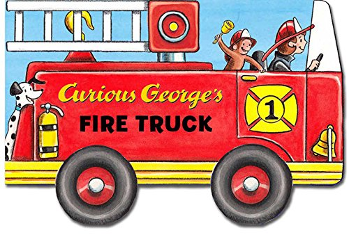 Curious George's Fire Truck (mini movers shaped board books) -