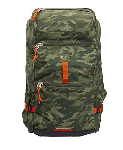 STM Drifter, Laptop Backpack for 15-Inch Laptop - Green Camo (stm-111-037P-36) by STM