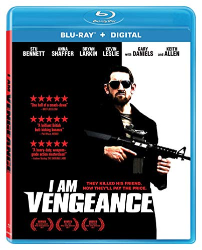 Blu-ray : I Am Vengeance (AC-3, Digital Theater System, Widescreen, Subtitled)