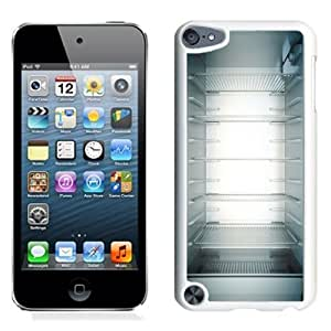 Lovely and Durable Cell Phone Case Design with Inside My Fridge Shelves iPod Touch 5 Wallpaper in White
