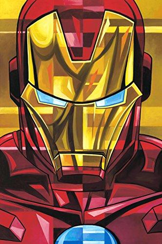 Iron Man by Tim Rogerson–hand-signedアーティストProof Limited Edition of 15–Gicleeキャンバス–新しい30x 20with COA–、公式ライセンスと公開by Marvel Fineアートの商品画像