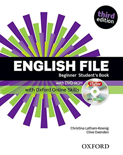 English File Beginner Student's Book With iTutor and Online Skills