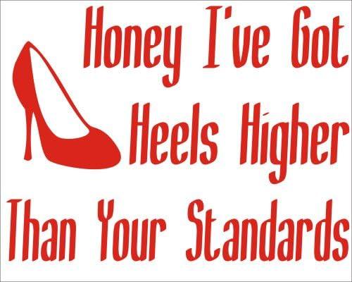 I have High Standards. Bumper Sticker