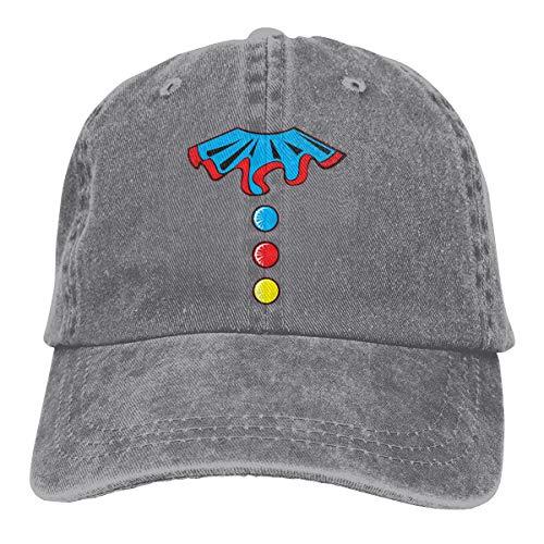 (Mnakna822mmakd Funny Clown Costume Unisex Personality Hat Adjustable Baseball Hat)