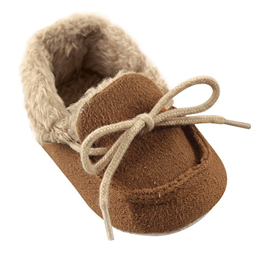 Cozy Moccasin Slipper, Chestnut, 12-18 Months Standard Width US Infant ()