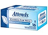 Package Of 16 Attends Guards for Men - Unisize - Case of 4