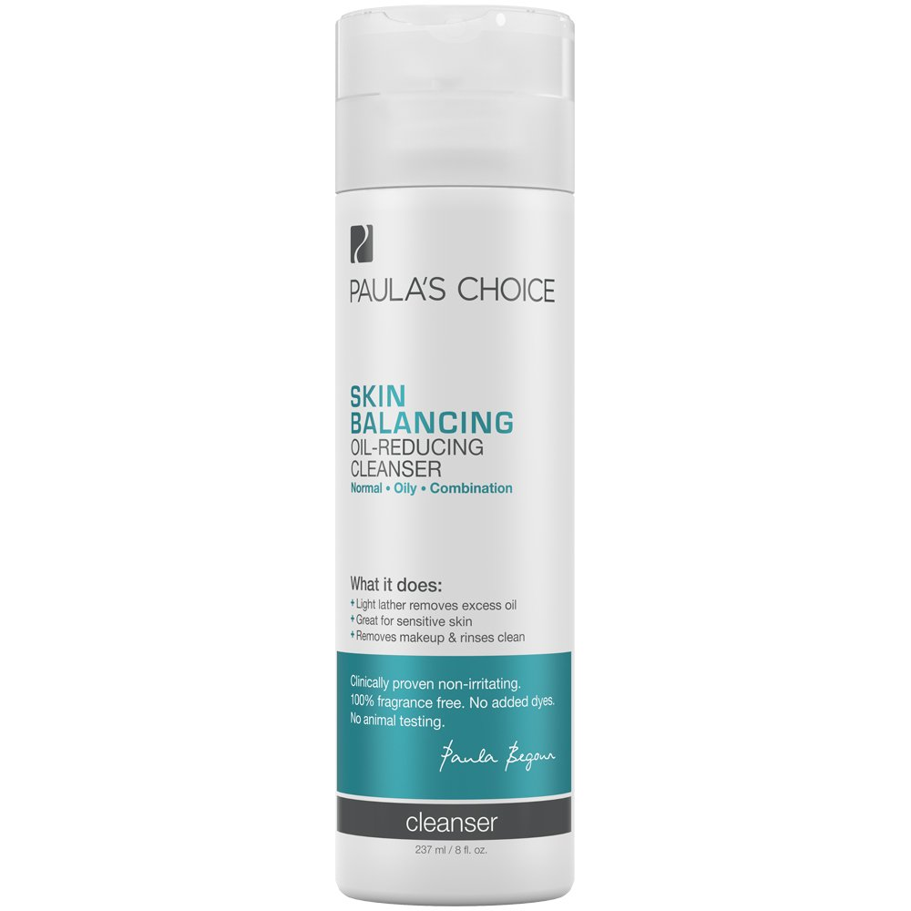 Paula's Choice SKIN BALANCING Oil-Reducing Cleanser for Normal, Combination, and Oily Skin - 8 oz