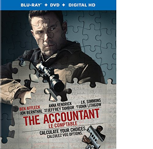 The Accountant (Blu-Ray + DVD + UV Digital Copy) (Bilingual)