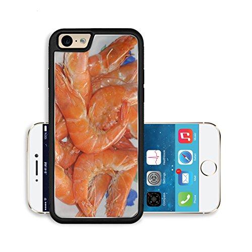 Luxlady Premium Apple iPhone 6 iPhone 6S Aluminium Snap Case close up of shrimp north china a kind of food IMAGE ID 7397525