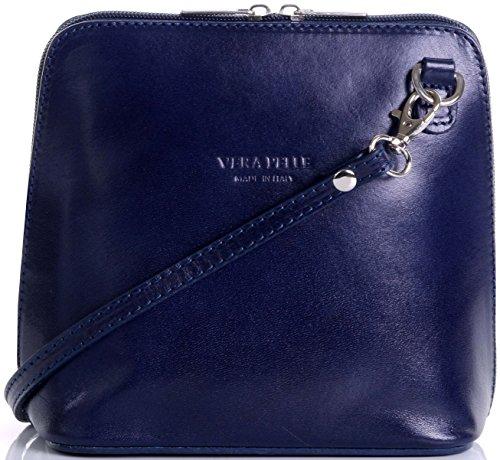 marque à main Petit peinte sac Primo sac bandoulière ou Bleu à italien cuir de de sac en rangement Sacchi un la main Marin protecteur nbsp;Comprend de qwAvCv7gFx