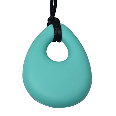 Chubuddy Buds Oval Chewy - Aqua, Non-Toxic: Office Products