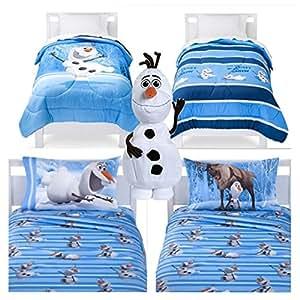 Amazon Com Disney Frozen Olaf 5 Piece Bed In A Bag