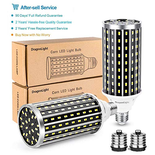 50W Super Bright LED Corn Light Bulbs(400 Watt Equivalent) - E26/E39 Mogul Base LED Bulbs - 6500K Daylight 5000 Lumens… 7