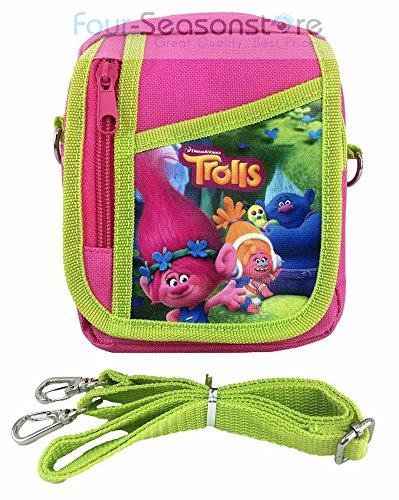 dreamworks-trolls-poppy-friends-small-camera-bag-case-little-girl-bag-handbag-with-frozen-key-chain-
