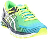 ASICS Men's GEL-Kinsei 6 Running Shoe, Flash Yellow/White/Blue, 12 M US