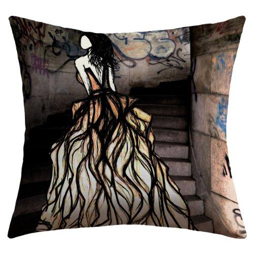 Deny Designs Amy Smith Escape Outdoor Throw Pillow, 20 x 20 ()