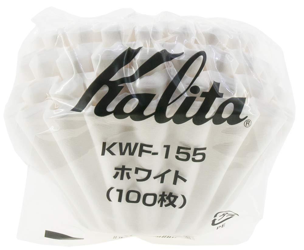 Kalita: Wave Series Wave Filter KWF-155 [1-2 persons] White , 100 sheets # 22213 #22213