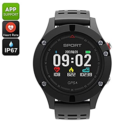 No.1 F5 Bluetooth Watch Pedometer Sleep MonitorHeart Rate ...