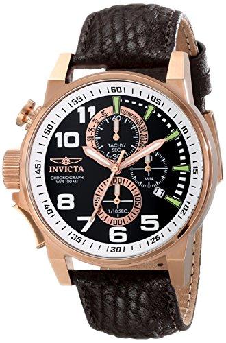 Invicta Men's 13056SYB Force Analog Display Japanese Quartz Brown Watch