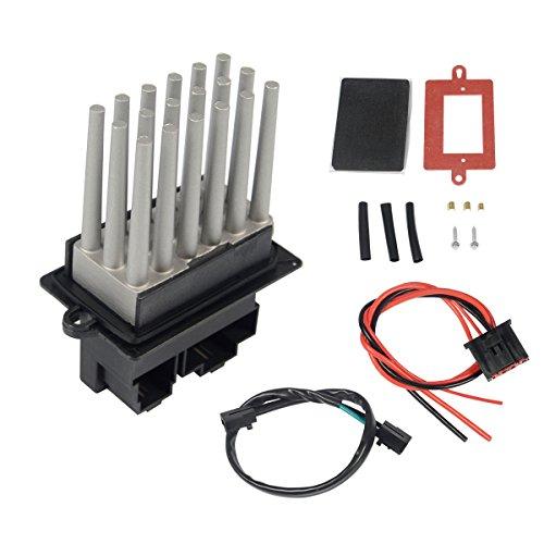 A-Premium HVAC A/C Blower Motor Resistor for Jeep GrandCherokee 1999-2004 AutomaticTemperatureControl