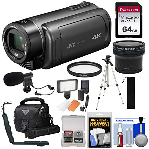 JVC Everio GZ-RY980 Quad Proof 4K Ultra HD Video Camera Camc