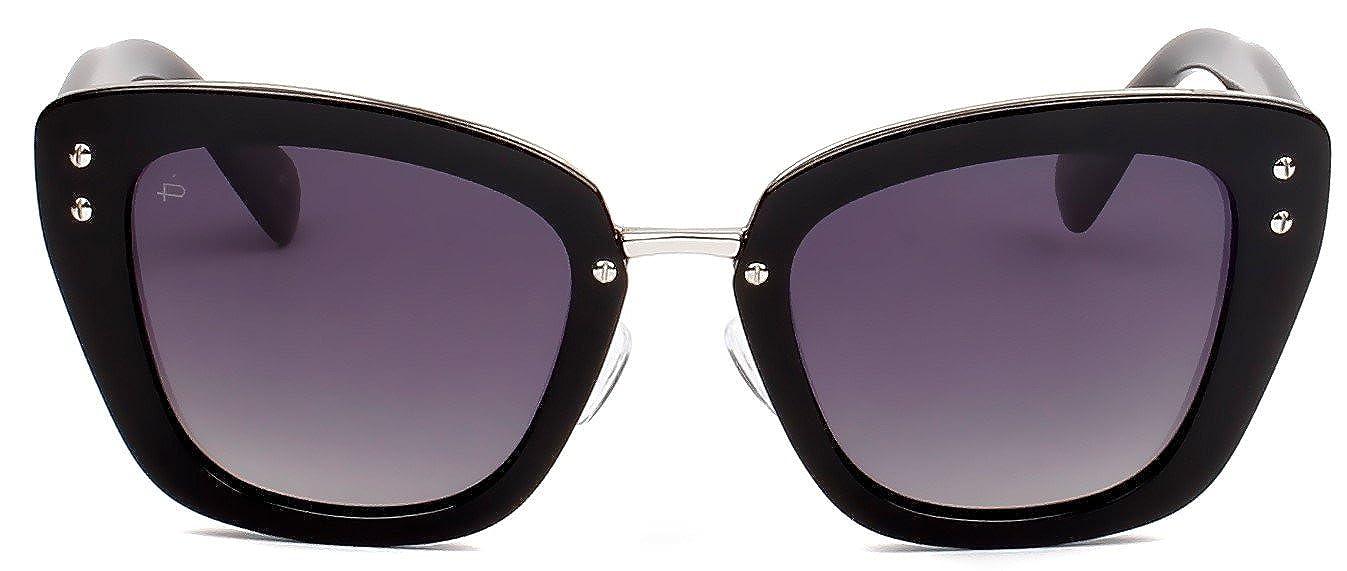 """7f8de42c19e21 Amazon.com  PRIVÉ REVAUX ICON Collection """"The Grace"""" Designer Polarized Cat-Eye  Sunglasses  Clothing"""