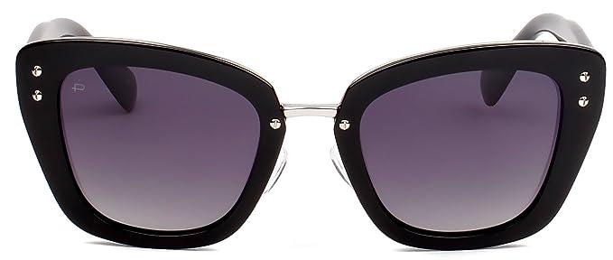 """752dc0f0c7d PRIVÉ REVAUX ICON Collection """"The Grace"""" Designer Polarized Cat-Eye  Sunglasses"""