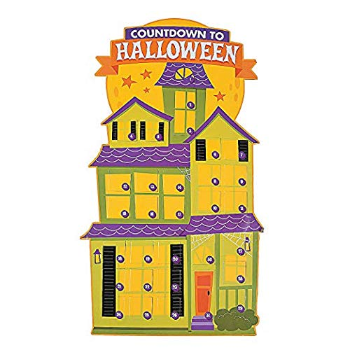 Jumbo Halloween Countdown Advent Calendar for Home or Classroom -