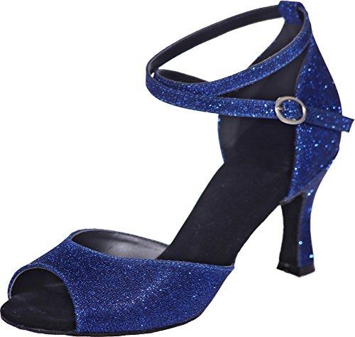 Danse Bleu bleu CFP femme Salon de T4xdwqUH