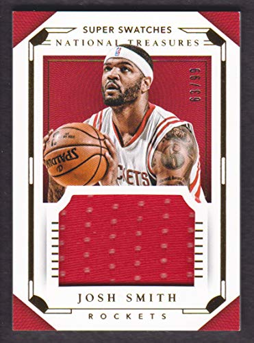 2015-16 Panini National Treasures Basketball Super Swatches Jersey #63 Josh Smith 63/99 ()