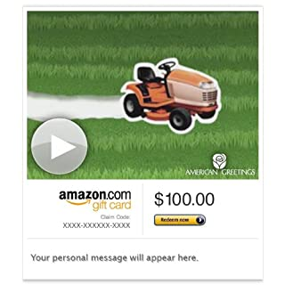 Amazon Gift Card - Email - Many Mower (Animated) [American Greetings] (B00CT79HNS) | Amazon price tracker / tracking, Amazon price history charts, Amazon price watches, Amazon price drop alerts