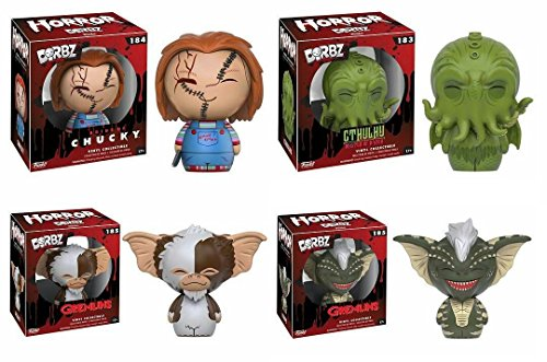 Funko Dorbz: Horror - Chucky Gremlins Cthulhu Figure Set of -