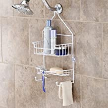 Kenney Manufacturing Company Hanging Caddy, 17 by 10 by 4-Inch, White