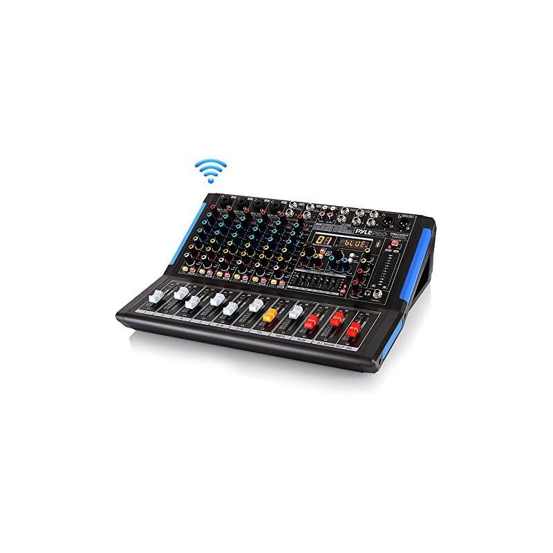 8-Channel Bluetooth Studio Audio Mixer -