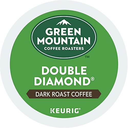 Green Mountain Coffee Roasters Double Diamond Coffee Keurig One-Serve K-Cup Pods, Dark Roast Coffee , 72 Count (6 boxes of 12 Pods)