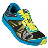 Pearl iZUMi Men's EM Road N 1 Running Shoe,Electric Blue/Yellow,9 D US