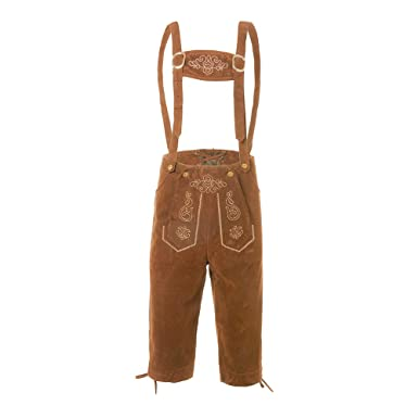 Puimentiua Bávaro Pantalones de Alemán para Hombre Traje de Ropa de Cerveza Oktoberfest Tradicional Pantalón