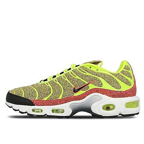 cheaper 4e063 55cf2 Galleon - NIKE Womens Air Max Plus SE Womens Running Trainers 862201  Sneakers Shoes (US 8, Volt Black Hot Punch 700)