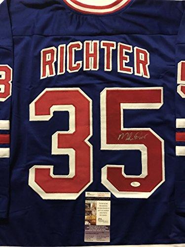 sale retailer 87a10 66c08 Mike Richter Rangers Memorabilia, Rangers Mike Richter ...