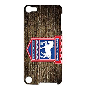 Ipswich Town FC Old Wall Background Logo Stylish Hard Case for Ipod Touch 5th Generation