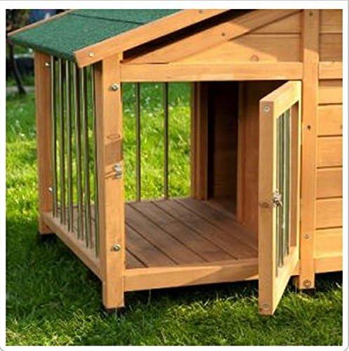 Cerradura – Sylvan especial de caseta de perro bonita carcasa de – ideal para tu mascota fuera de casa para corta veces: Amazon.es: Productos para mascotas