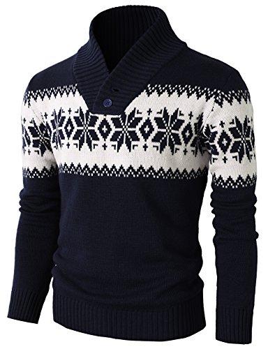 H2H Fashion Pullover Christmas Snowflake