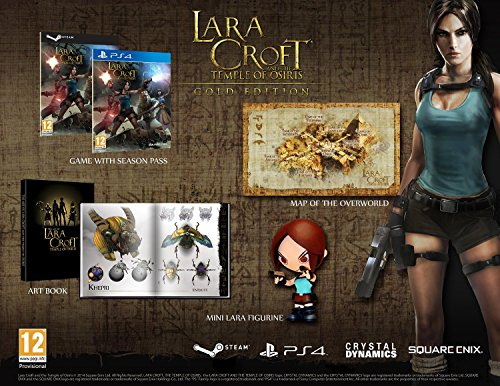Square Enix Video Games: Lara Croft and Temple of Osiris for PS4 - 6