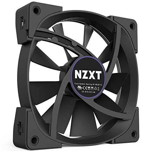 NZXT HUE+ & Aer RGB120 Fans Bundle Pack RGB 2x 120mm Aer Fans Included by Nzxt