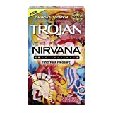 Trojan Nirvana Latex Condoms, 10 Count