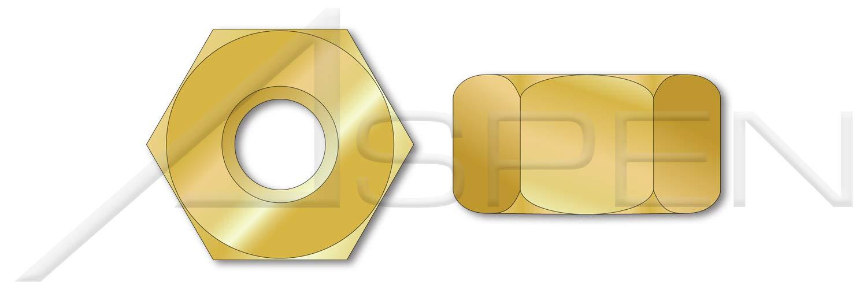 1 pcs Brass 2-1//4-4.5 Hex Heavy Nuts