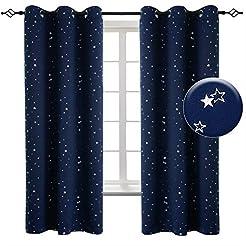 BGment Kids Room Darkening Curtains with...